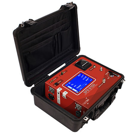 SF66100 Portable gas analyser